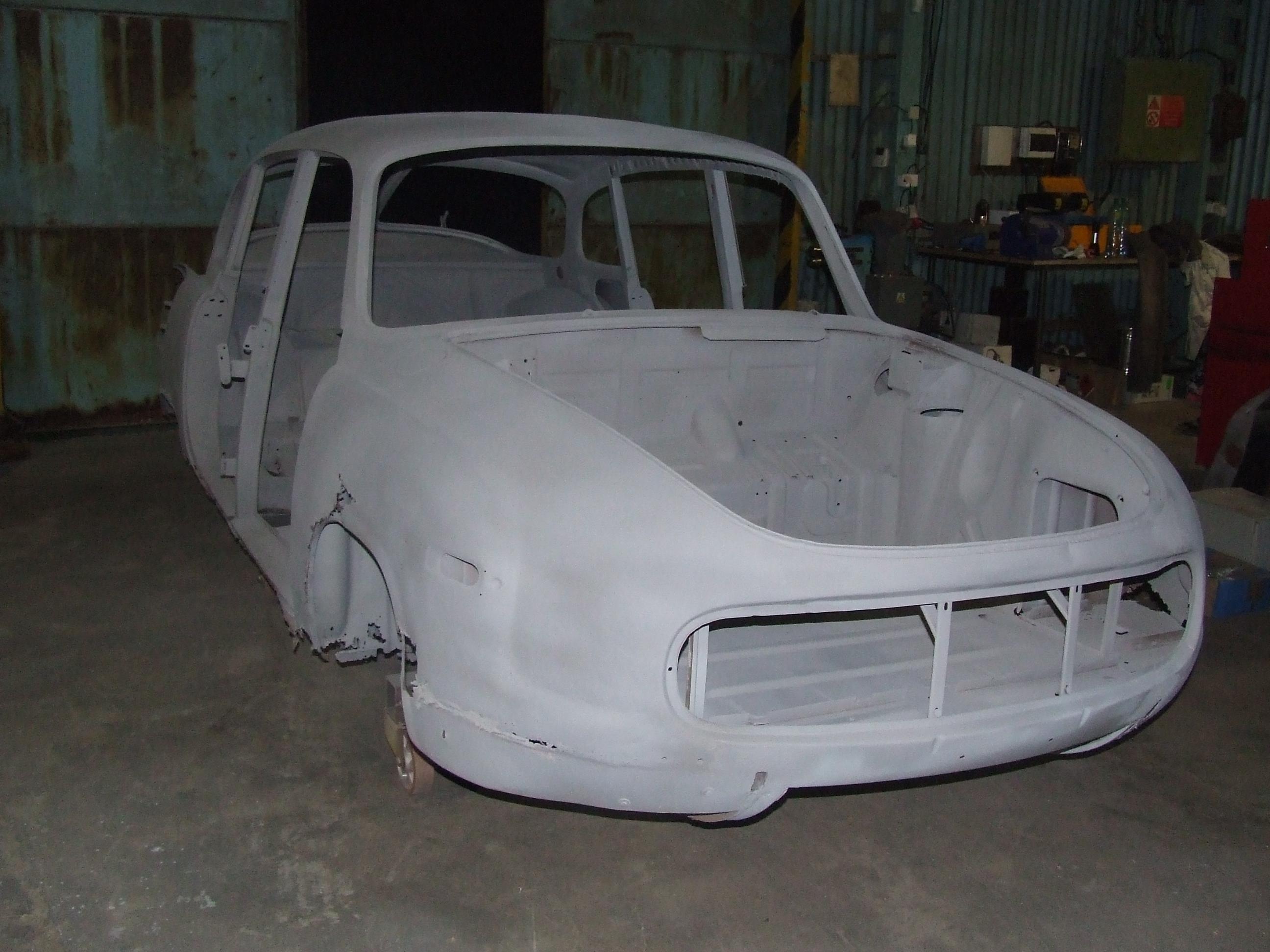 Renovace vozu Tatra 600