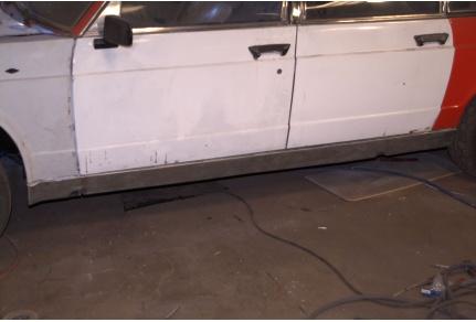 Kryty prahů Tatra 613 - cena za pár