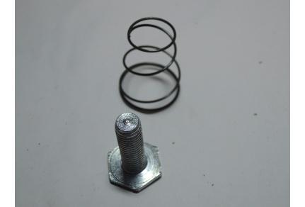 Šroub + pružina vnější kliky Tatra 603