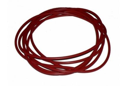 Kabel ke svíčkám - červený, délka 10m