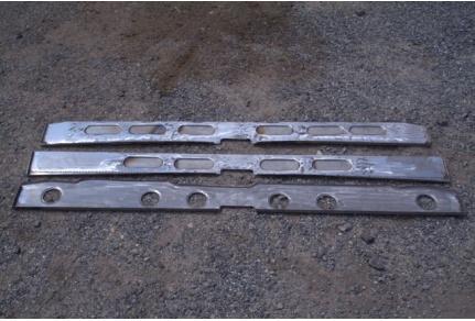 Výztuhy podlahy Tatra 603 - 3ks
